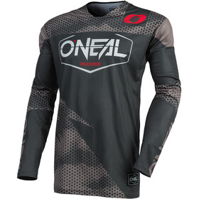 O'Neal Mayhem Maillot Crackle 91 Homme, covert-charcoal/gray